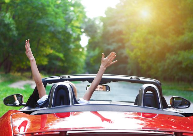 Jugendliche fährt Auto   © panthermedia.net / dasha11