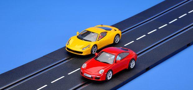 Autorennen für den PC | © panthermedia.net /Henry Smits-Bode