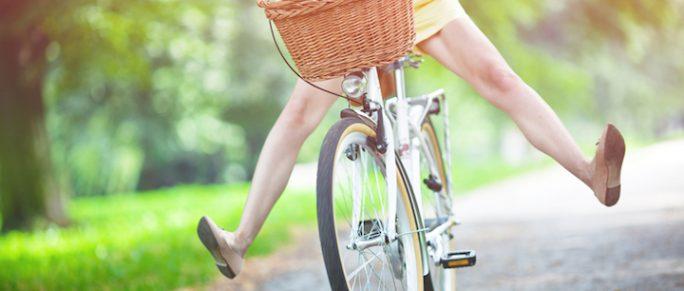 Spaß am Fahren mit dem Fahrrad | © panthermedia.net /rachwal