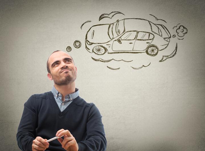 Die Auswahl des ersten Autos ist gar nicht so einfach | © panthermedia.net / HASLOO