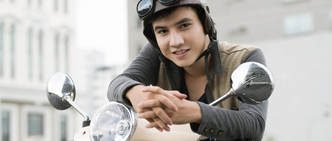 Moped fahren mit 15: Gesetzes-änderung in Kraft